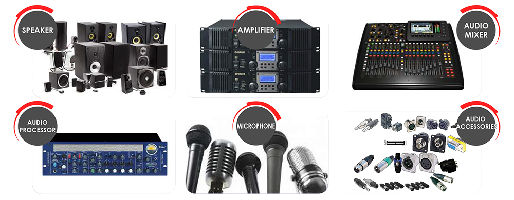 Our Audio Line Of Product
