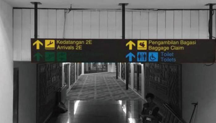 Bandara Soekarno Hatta - Signage