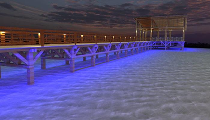 Dermaga Aston Anyer Beach Hotel - LED Light